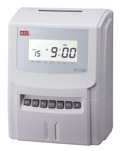 MAX ER-2700 time recorder / clocking in machine